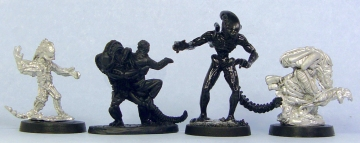 Aliens size comparison 2