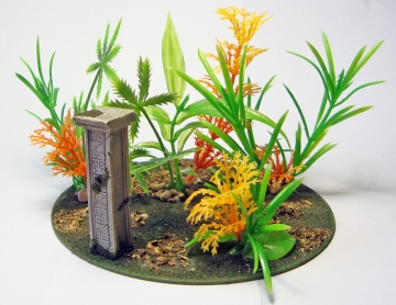 Jungle terrain on CD