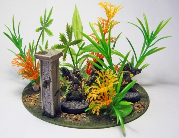 Jungle terrain with em4 troopers