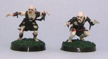 Blood Bowl Mantic ghouls