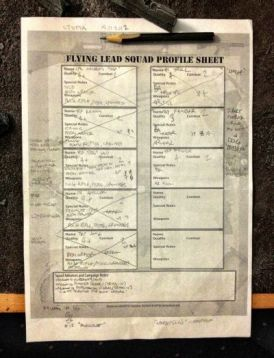 flying lead sheet