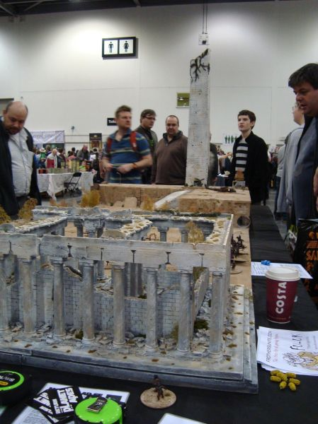 My favourite of the show, Akula's Planet of the Apes table