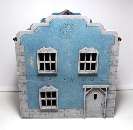 28mm town house front