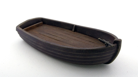 Picture of a playmobil jolly boat