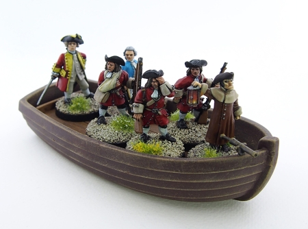 Picture of boat with soldiers