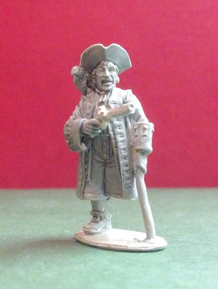 Long John Silver sculpt