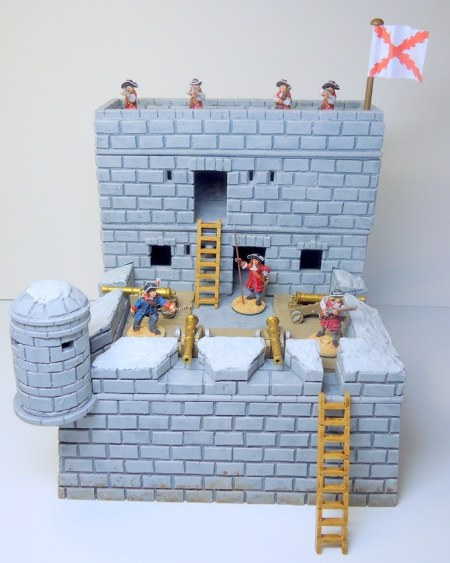 Spanish fort in 28mm