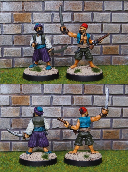 Foundry 28mm barbary pirates
