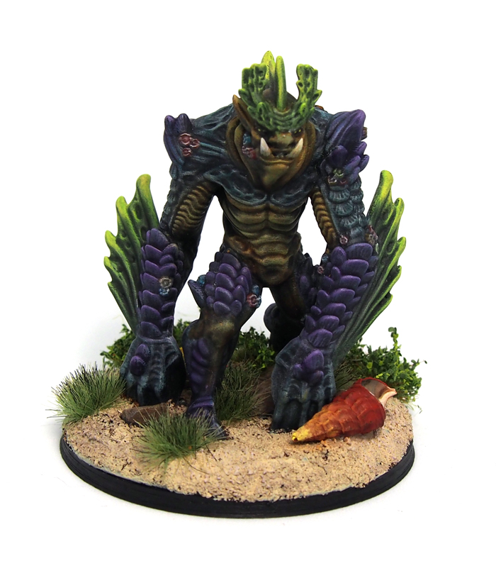 Sea troll miniature
